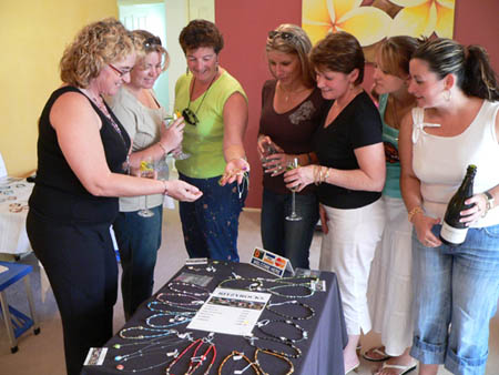Jewelery Parties are a great way to get together with your friends and have FUN